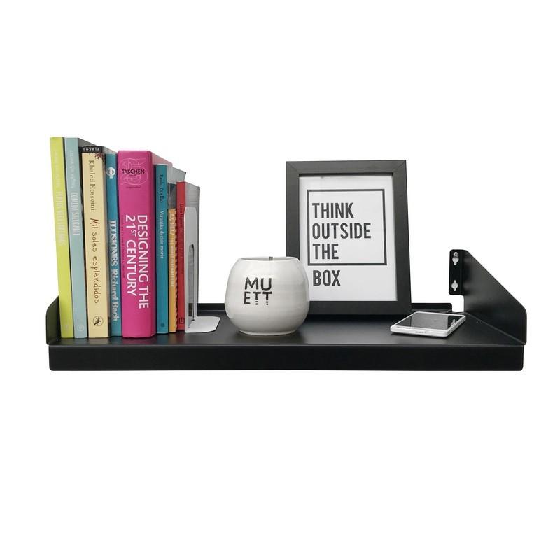 estante de chapa para cuadros decoracion repisa diseño Muett estanteria living dormitorio industria argentina biblioteca libros