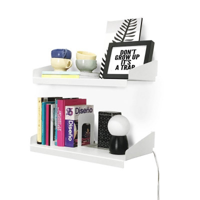 estante con mensula minimalista diseño Muett