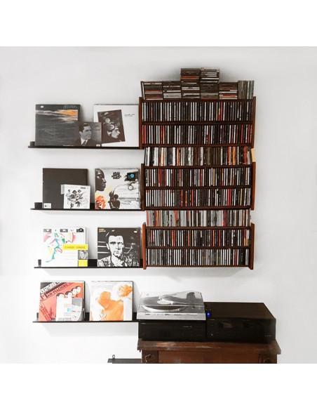 estante para vinilos diseño Muett