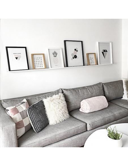 estante para cuadros diseño moderno Muett