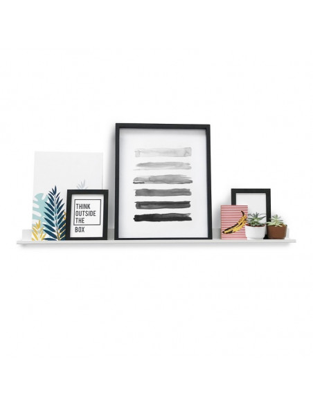 estante para cuadros y deco diseño Muett