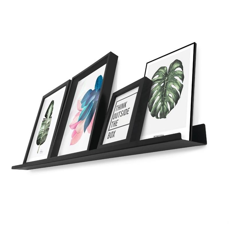 estante de chapa para cuadros decoracion repisa diseño Muett estanteria living dormitorio industria argentina