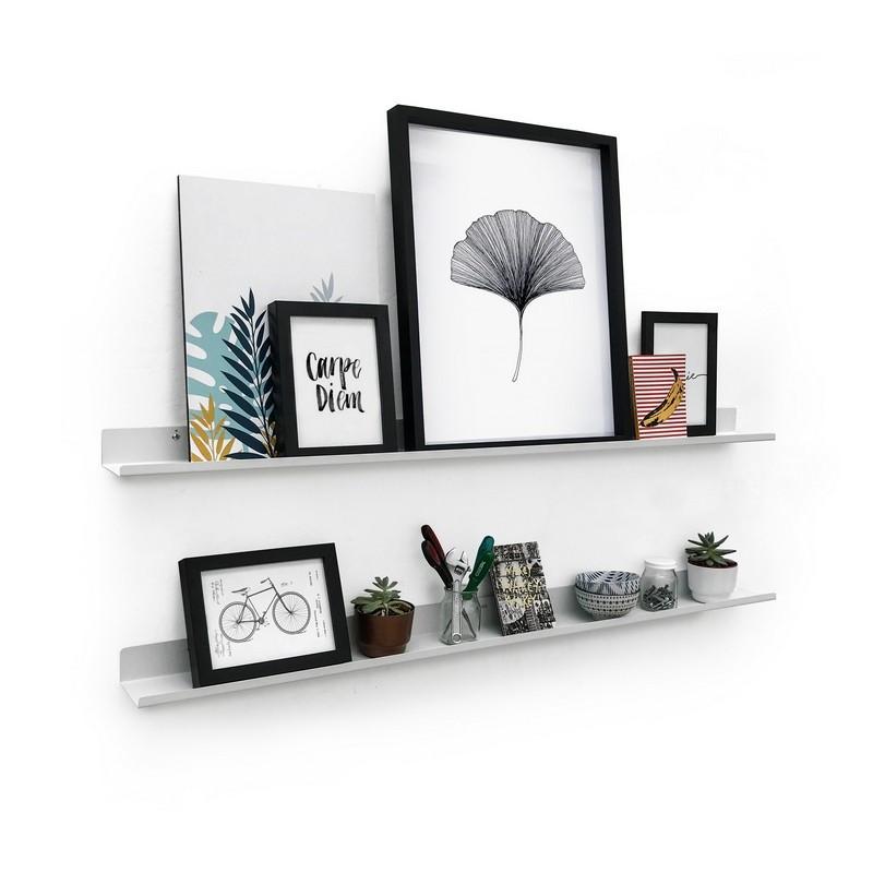 estante line para cuadros repisa de diseño Muett