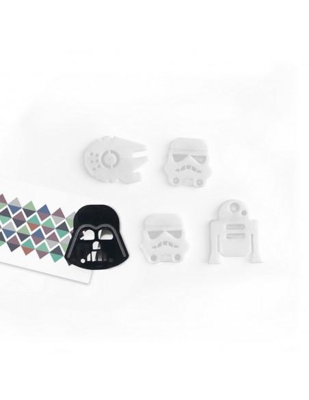imanes de diseño star wars de Muett