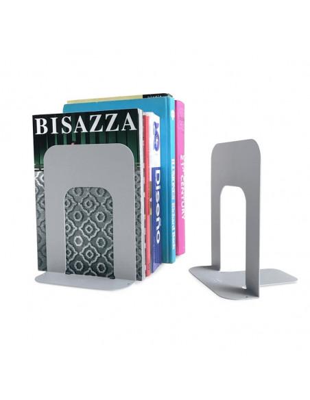 sujetador soporte tope para libros diseño Muett