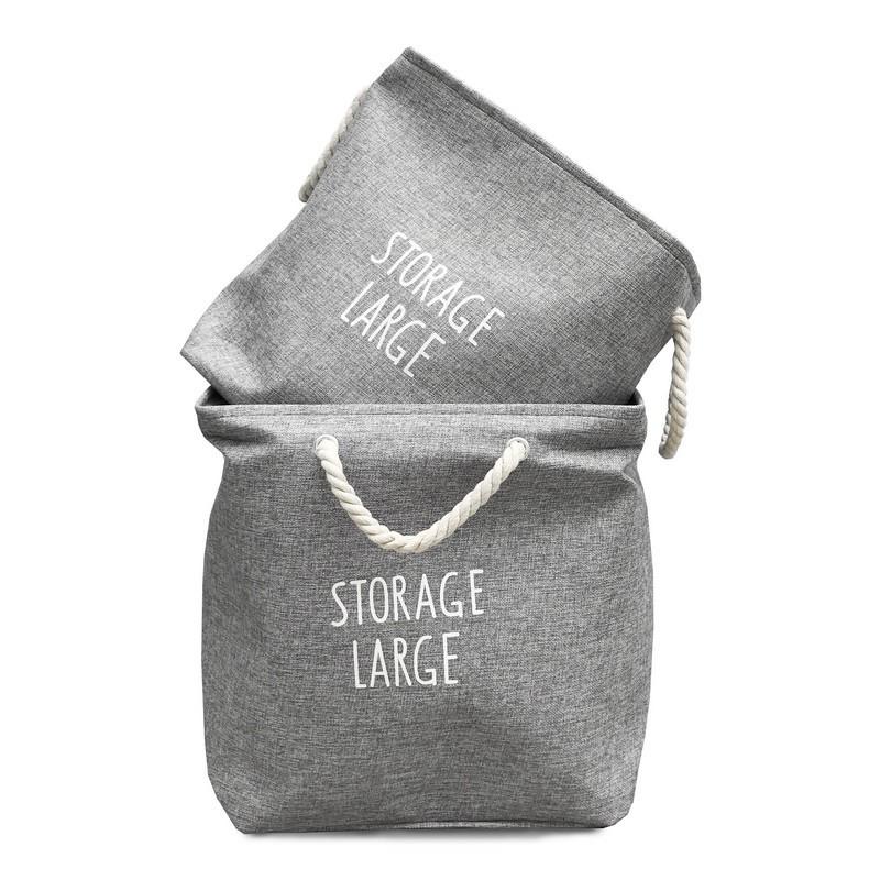 set de cestos storage organizadores para ropa , juguetes, papeles, almohadores diseño Muett
