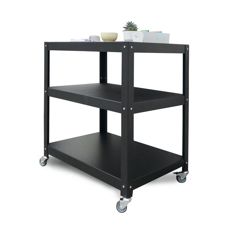 mesa auxiliar grande con ruedas diseño Muett