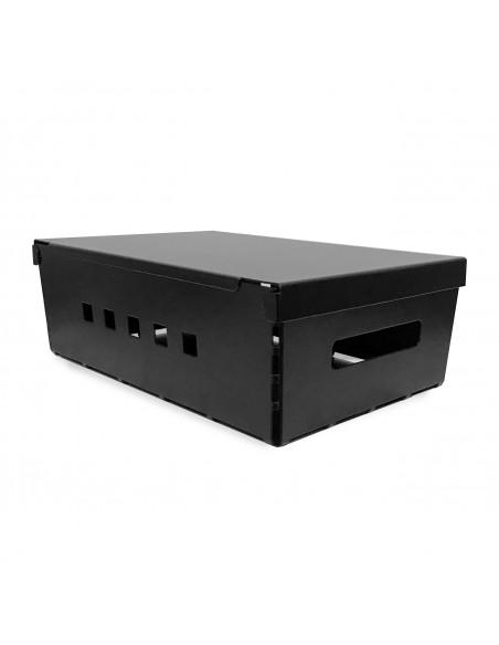 caja metalica de diseño con tapa Muett organizador