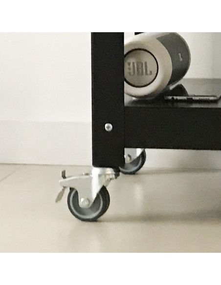 mesas con ruedas de diseño Muett