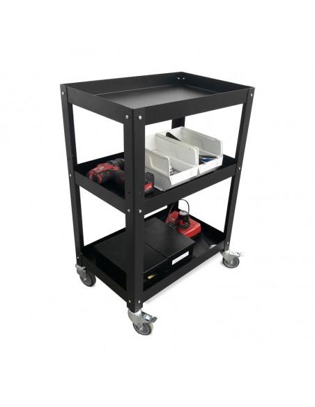 mesa complementaria con ruedas para taller diseño Muett