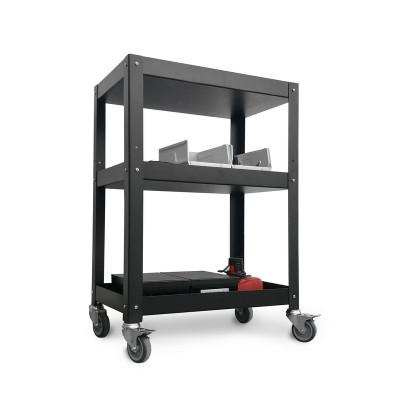 mesa auxiliar de taller con ruedas alta carga diseño Muett