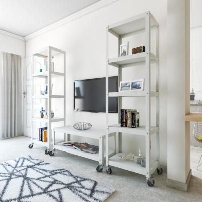 muebles de oficina con ruedas diseño Muett