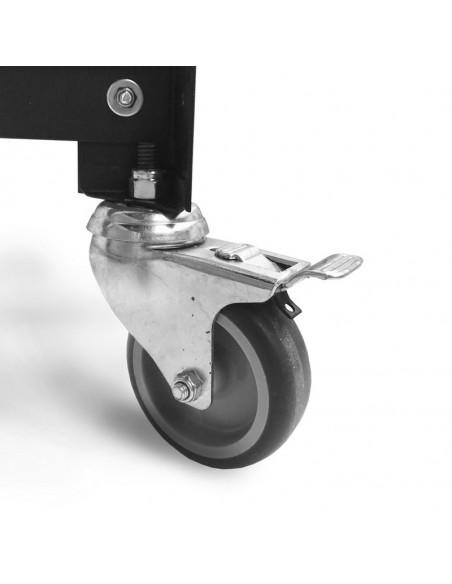 muebles con ruedas metalicos de diseño Muett