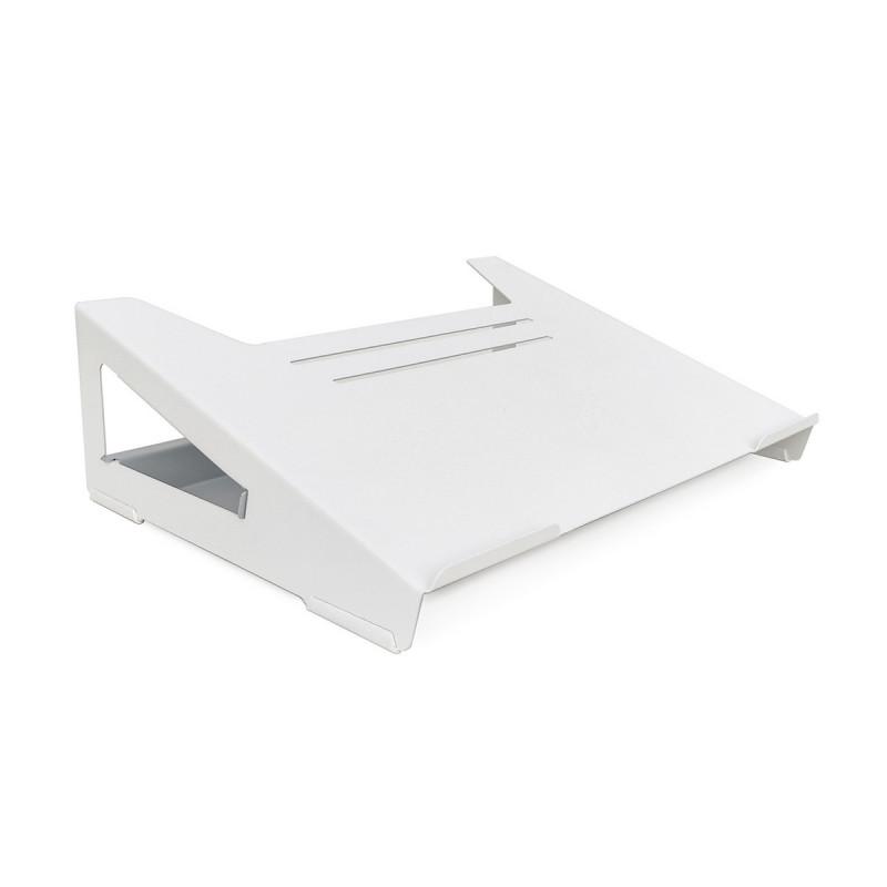 soporte notebook levanta laptop blanco organizador home office Muett diseño industria argentina