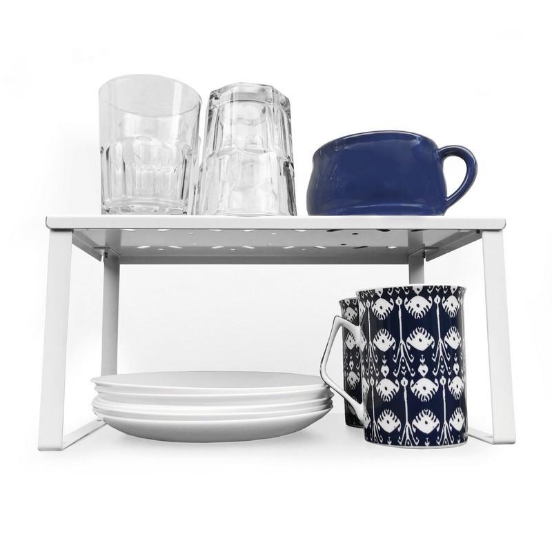 estante organizador de alacena para cocina diseño original muett repisa para platos y vasos tazas