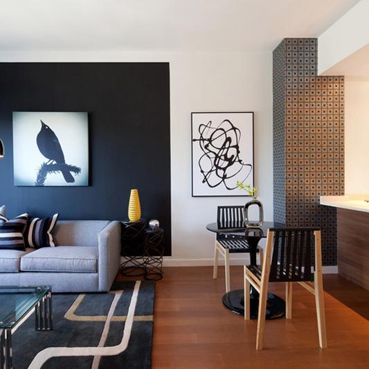 paredes acentuadas diseño organización Muett