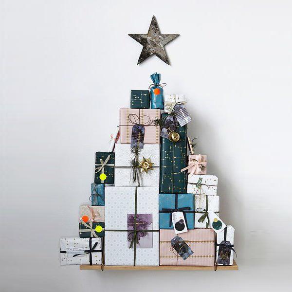 arbol de navidad de regalos