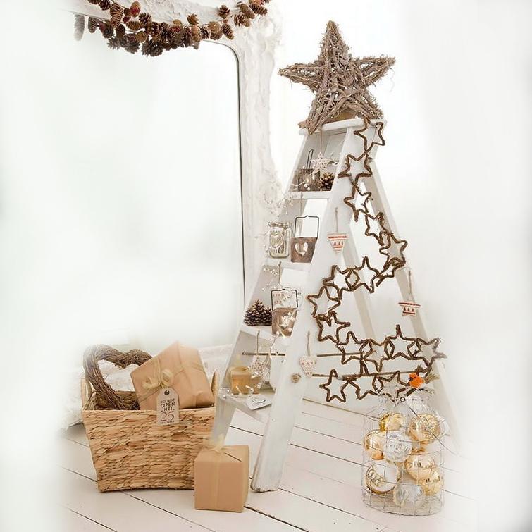 arbol de navidad escalera